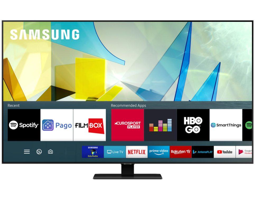 телевизор SAMSUNG Q80T QLED