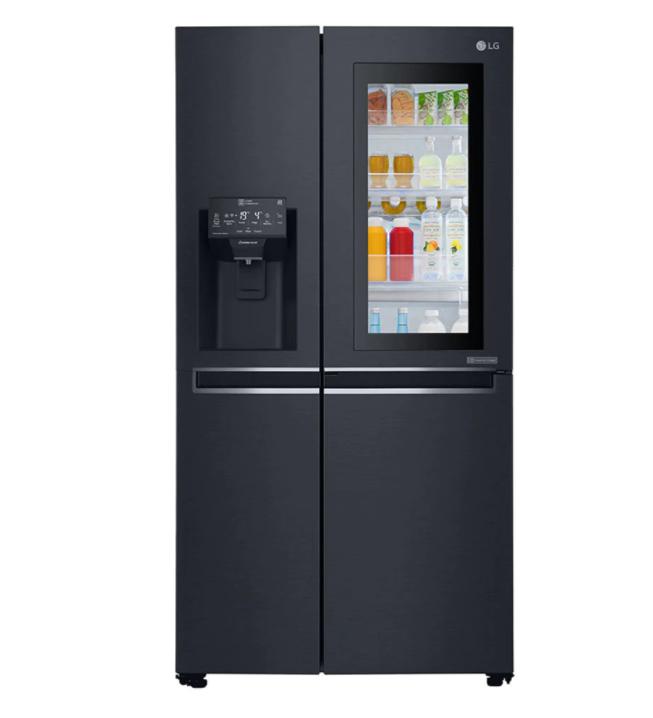 Двукрилен хладилник Side by side LG GSX961MCVZ