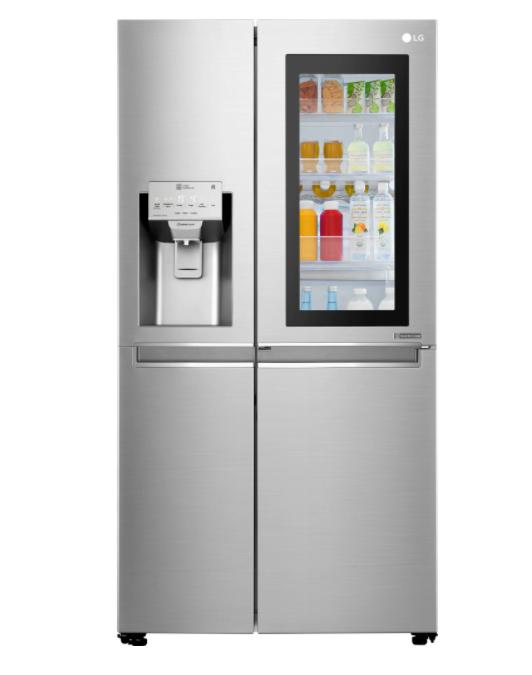 Двукрилен хладилник Side-by-side LG GSX961NEAZEAZ