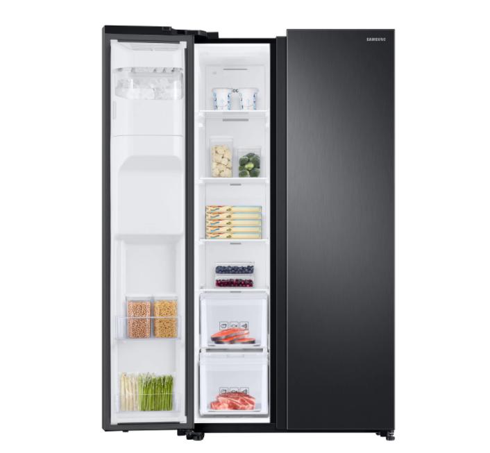Двукрилен хладилник Side by side Samsung RS68N8220B1/EF