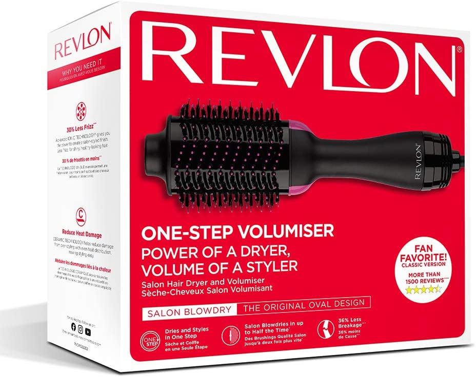 Електрическа четка REVLON One-Step Hair Dryer & Volumizer RVDR5222E