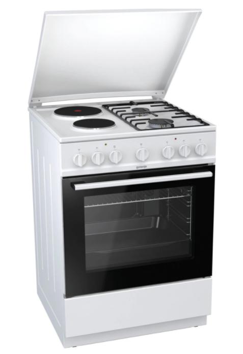 Комбинирана готварска печка Gorenje K6241WF