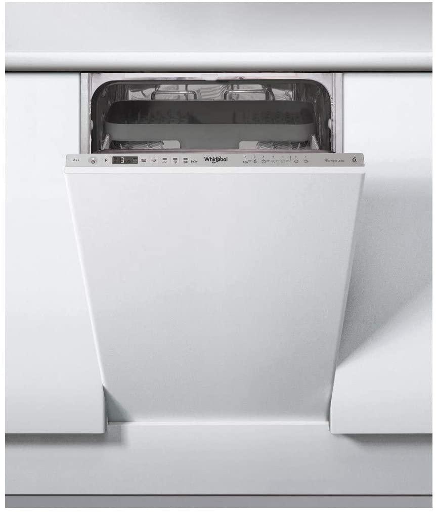 Съдомиялна за вграждане 45 см Whirlpool WSIO3T223PCEX