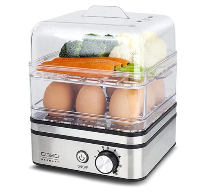 Електрически яйцевар с приставка за готвене на пара Caso ED10