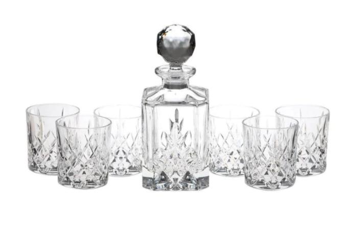 Кристален сервиз за уиски Bohemia Crystal Brixton