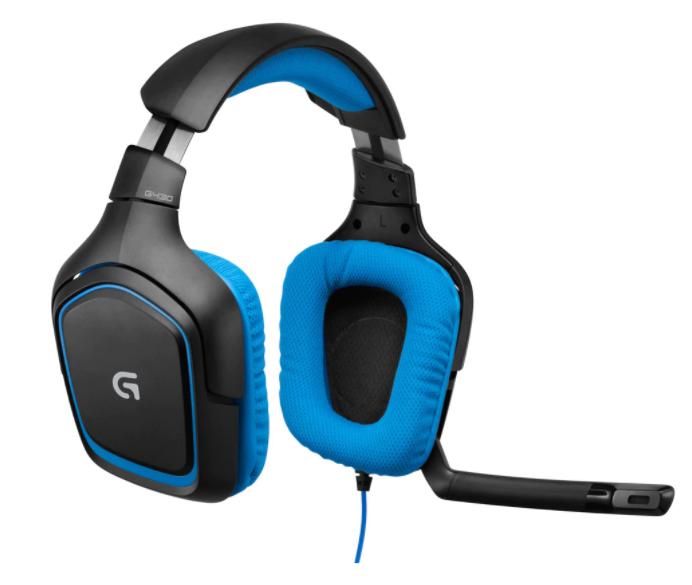 Подарък за мъж гейминг слушалки  Logitech G430