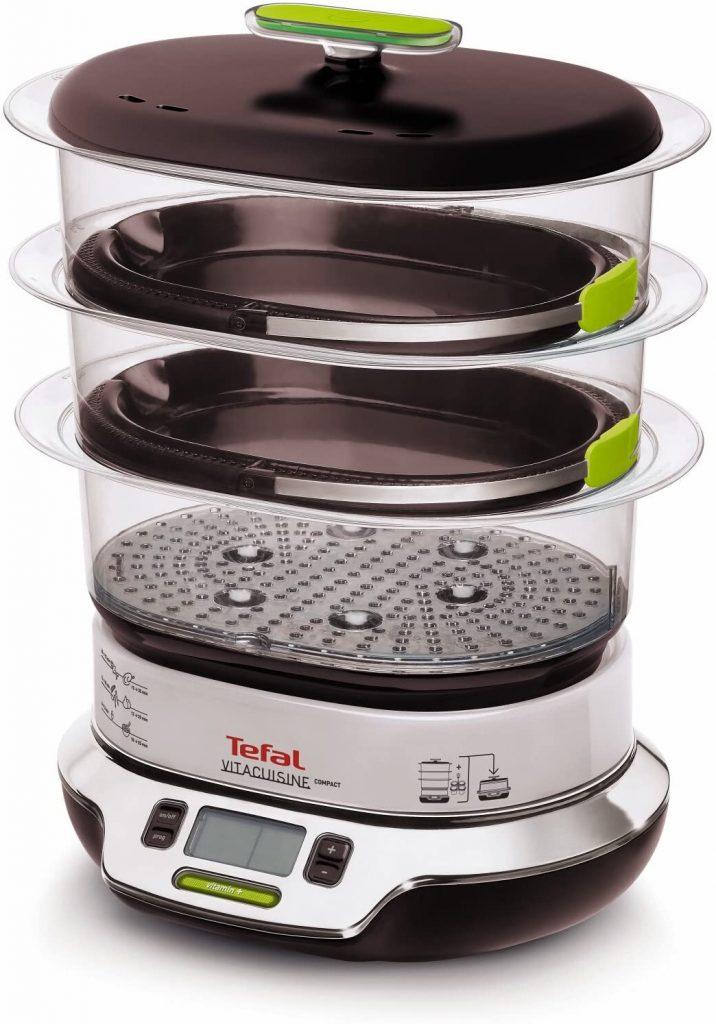 Уред за готвене на пара Tefal VS400333 VitaCuisine Compact