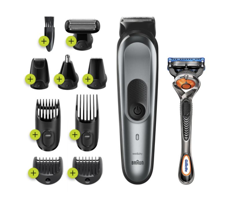 Тример за коса и брада Braun MGK7221