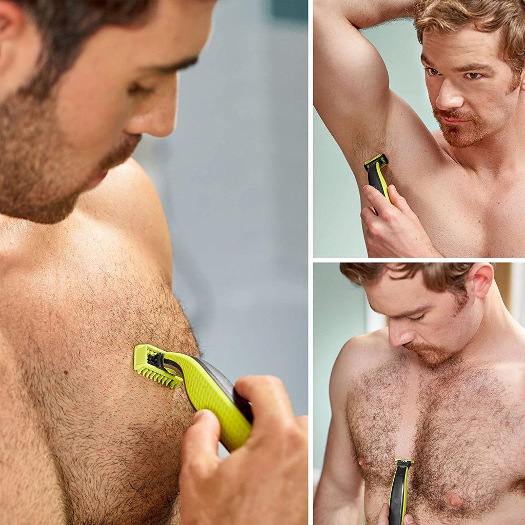 бръснене на тяло