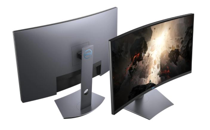 С извит екран Dell WQHD 31.5