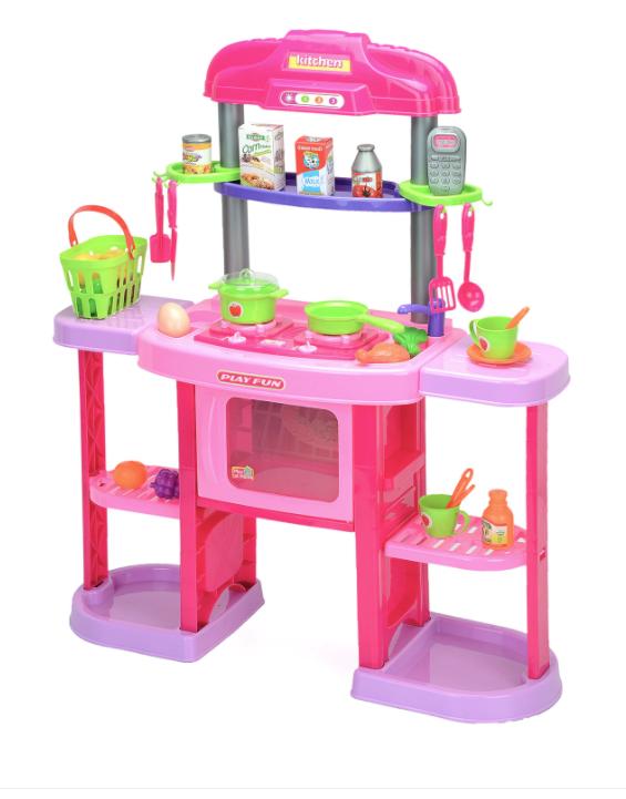 Детска кухня M-Toys с 32 аксесоара