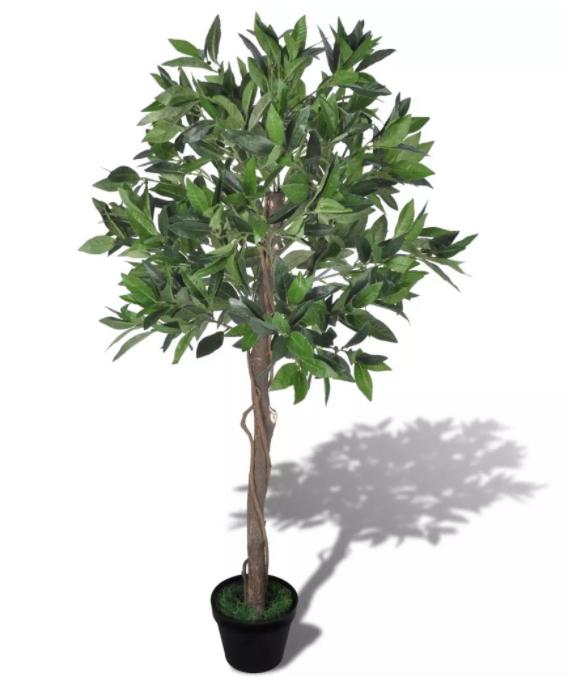 Изкуствено дърво в саксия vidaXL