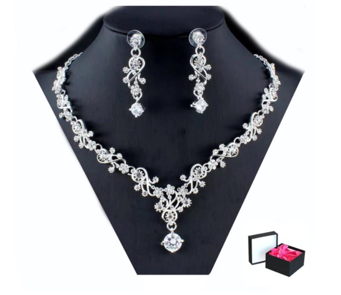 Подарък за коледа комплект бижута Синтия Kristin Fashion & Accessories